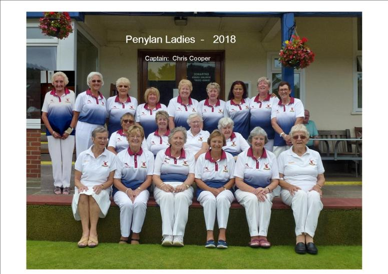 Penylan Ladies 2018